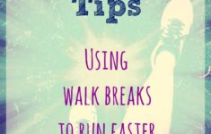 Running Tips - Using Walk Breaks to Run Faster