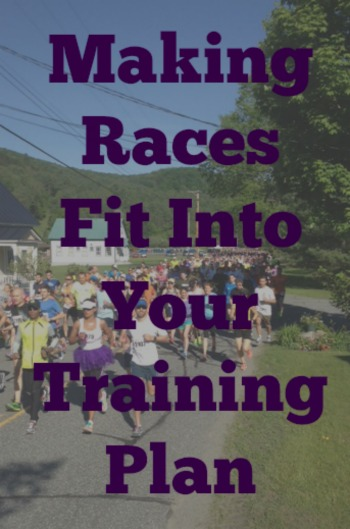 Making Races Fit Into Your Training Plan
