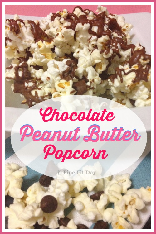 Chocolate Peanut Butter Popcorn. Three delicious foods combined for ...