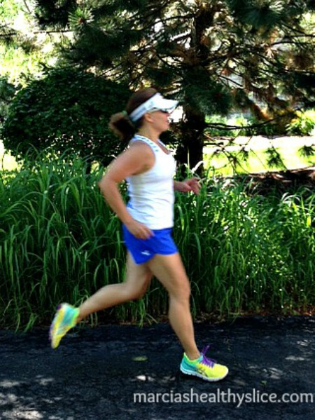 Fit Mama Friday - Meet Marcia. Marcia is a fit, running mama, an RRCA Running Coach, a writer and a figure skating coach. Needless to say, this fit mom is setting an awesome fitness example for her two daughters.