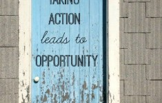 Taking Action Leads to Opportunity