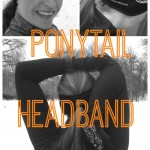 TrailHeads Ponytail Headband - game changer. Review of the Hyper Reflect Power Ponytail running headband. Awesome for winter running!