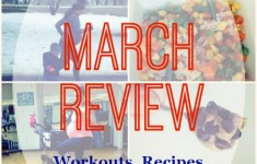 Fine Fit Day March Review - the best workouts, recipes, snacks, pregnancy updates, features from the month and more!