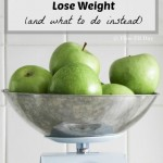 If you've been struggling with weight loss, or feel like you're becoming a little obsessed with the number on your scale, then this is a must read. 3 Reasons the Scale DOESN'T Help You Lose Weight explains why weighing yourself as a measure of progress is not the best way to track when you're losing weight. Plus, easy tips to back away from the scale and become a weight loss success story!