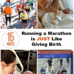 If you think of the pain, the blood, sweat and tears, then you immediately think YES! But you may be surprised by some of these ways running a marathon is just like giving birth. (And a few that prove it's totally different: like your medal doesn't try to nurse.) Runners and moms need to check out this funny list of why training for a marathon is just like having a baby!   running   marathon   motherhood  