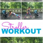 Check out this awesome stroller workout! Whether you're working on postpartum fitness, or you're just looking for a way to fit in some strength training during your run, this exercise routine is perfect for multitasking - bond with baby while you work on your fitness.   running   workout   fitness  