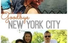 All of the Feelings. Goodbye New York City.