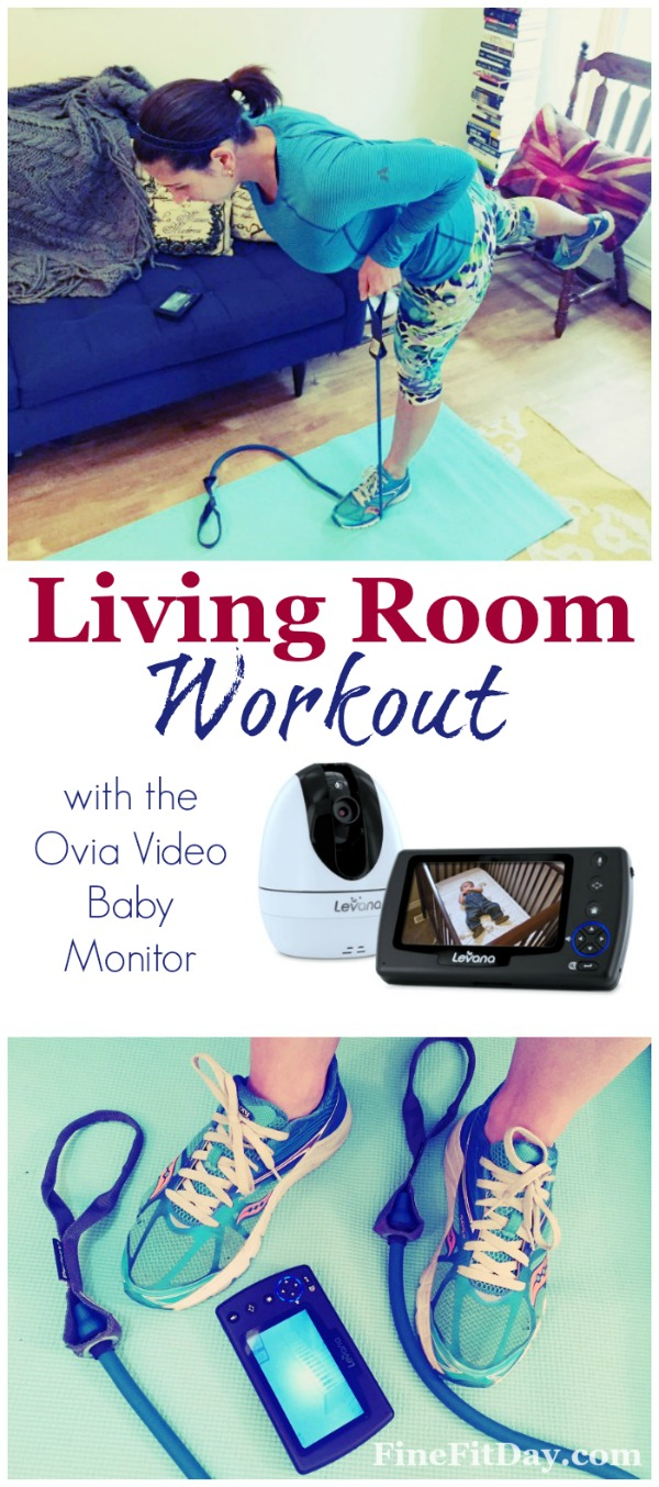 Sshh the baby 39 s sleeping living room workout fine fit day for Living room exercises